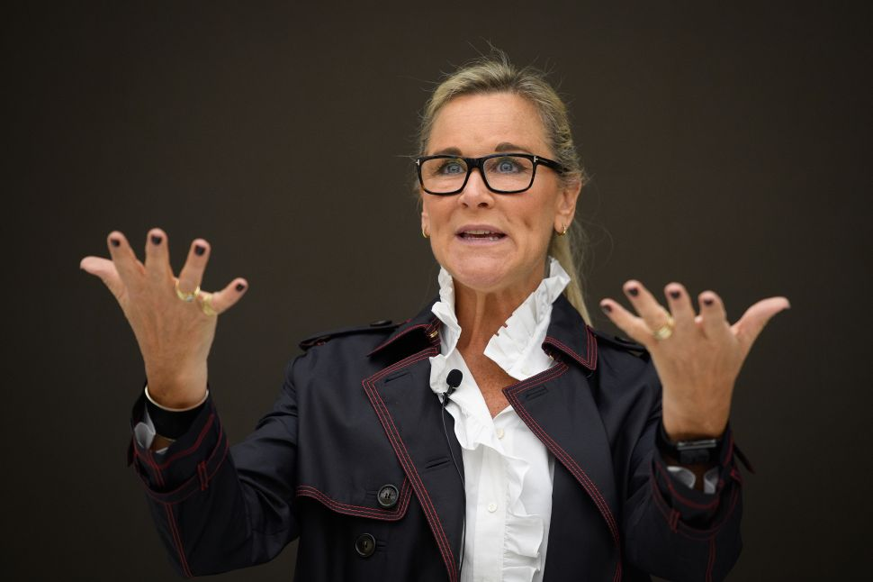 Angela Ahrendts is the only female executive on Apple's senior leadership team.