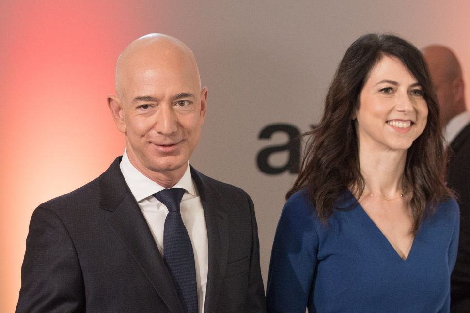 Jeff Bezos and his wife MacKenzie Bezos announced their divorce after 25 years of marriage in January.