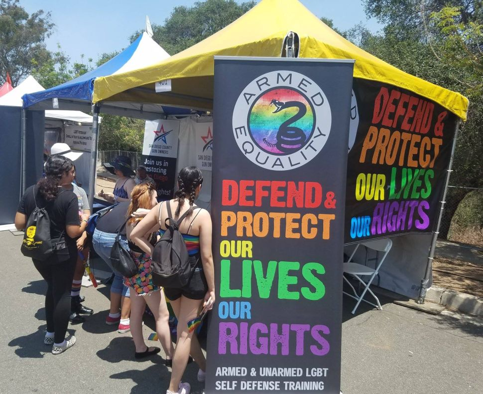 Much like the Pink Pistols, Armed Equality aims to teach defense skills, especially to targeted minorities.