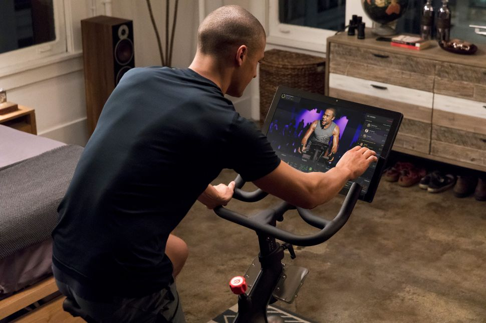 Peloton's original streaming workout classes have attracted one million impassioned users.