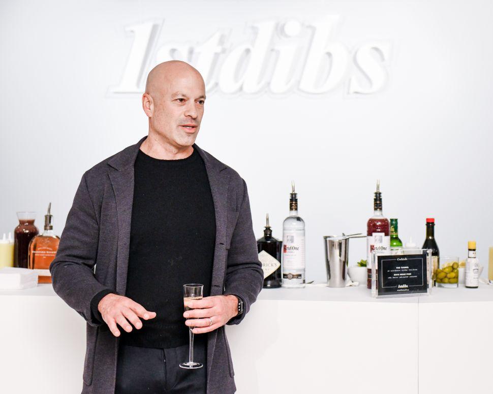 David Rosenblatt at the opening of the new 1stdibs gallery in New York City.