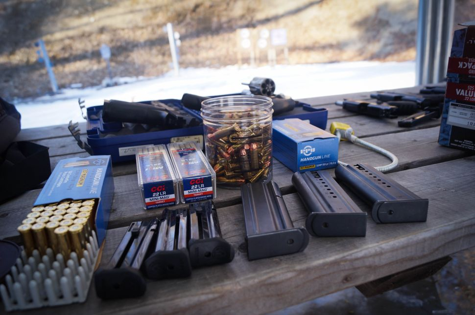 Donations provide targets and other items needed to keep the gun group going.