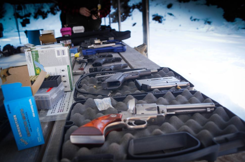 A mix of first timers and seasoned pros brought a wide variety of weaponry from their personal collections to the meet up.