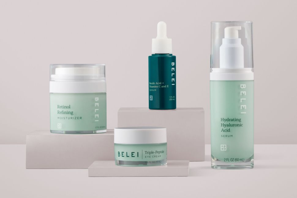 Amazon debuts a new line of skincare called Belei.