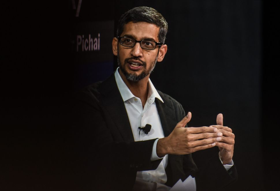 Google CEO Sundar Pichai has met with President Trump to discuss the tech giant's allegiance to the U.S.
