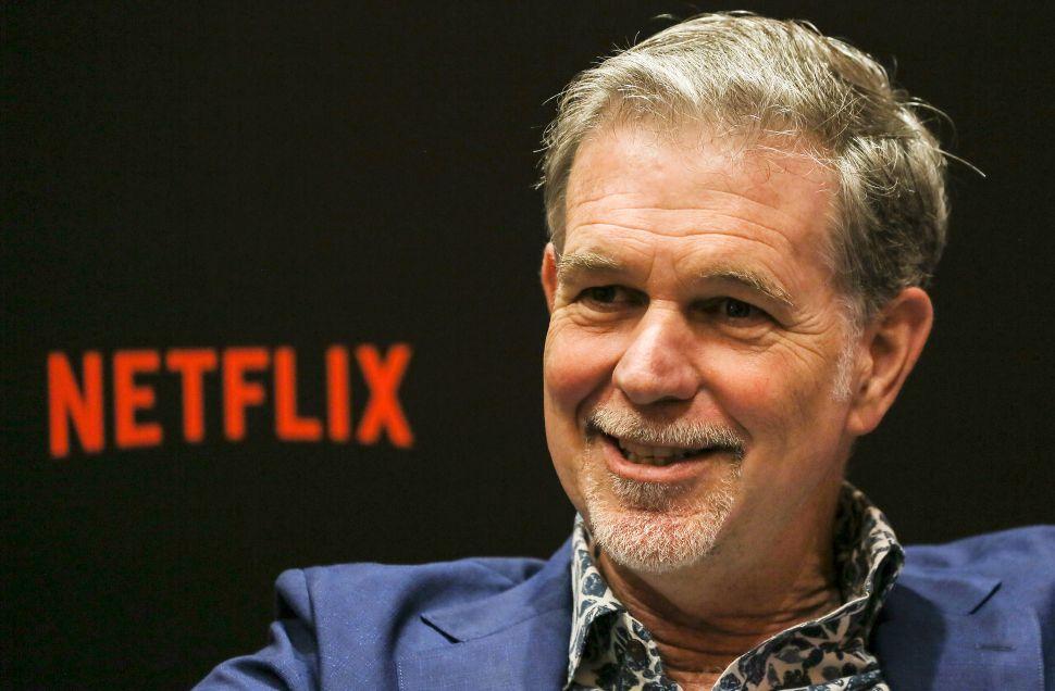Netflix Reed Hastings Apple Disney+ WarnerMedia Amazon
