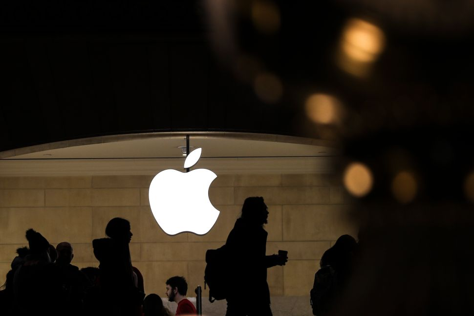 Apple's plan to favor software services has investors feeling lukewarm.