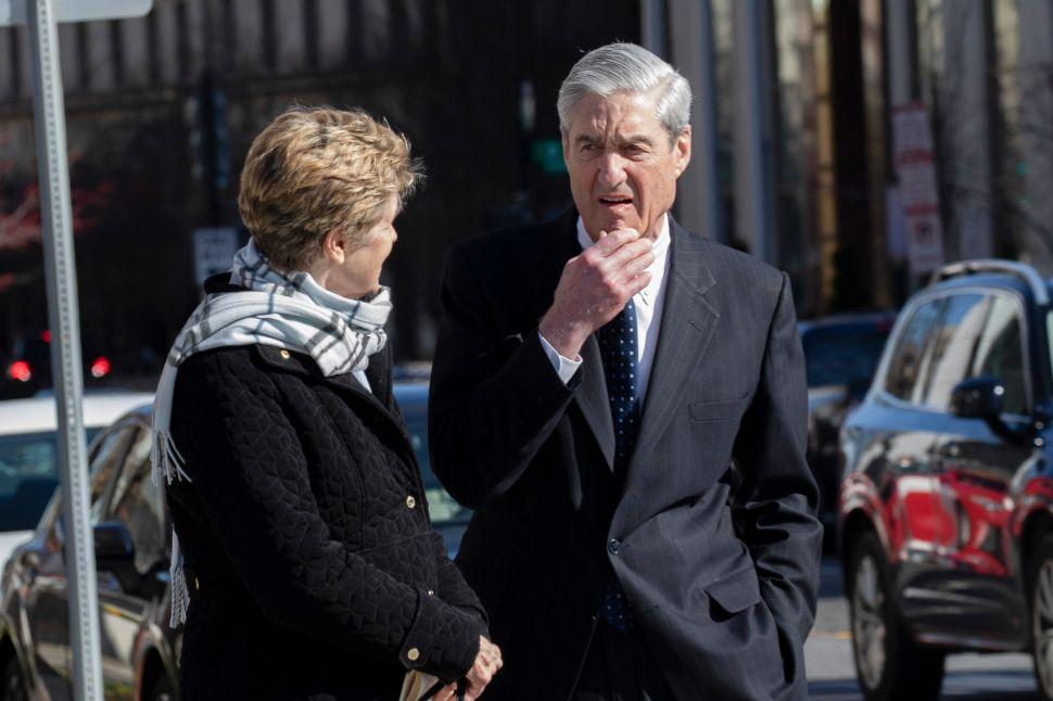 Ann Mueller and Special CounselRobert Mueller.