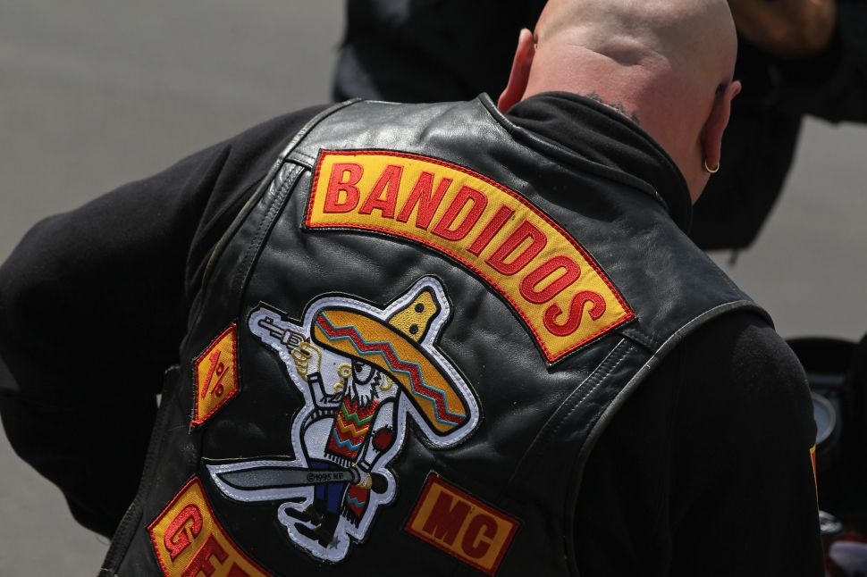 """The Bandidos motorcycle gang's motto: """"We are the people our parents warned us about."""""""