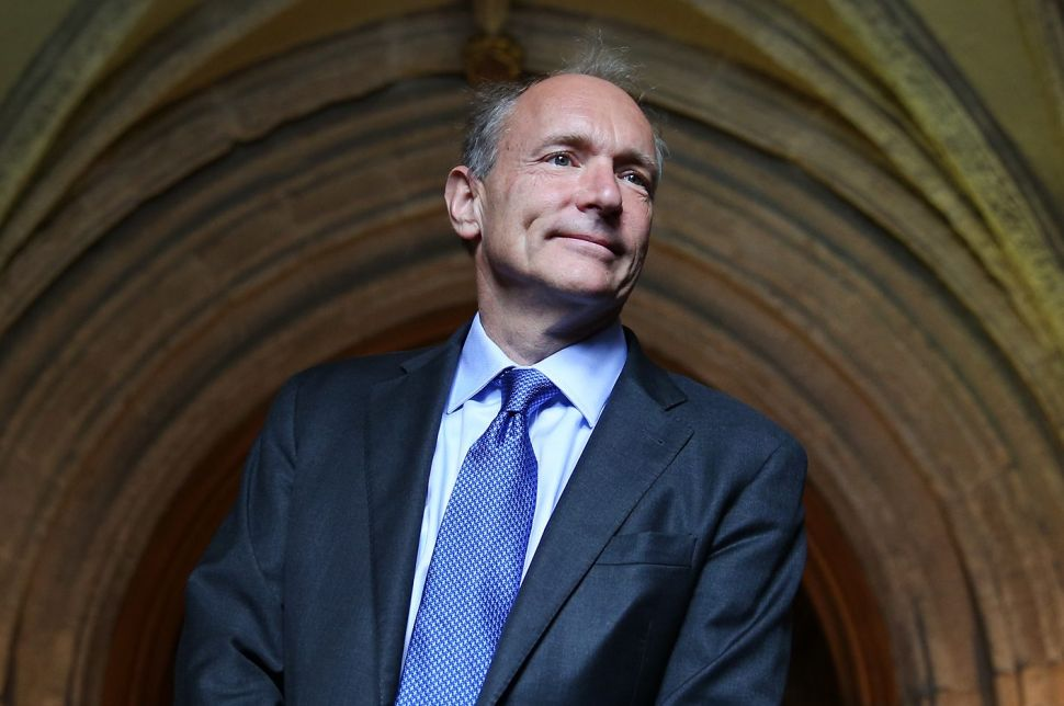 Tim Berners-Lee invented the World Wide Web in 1989.