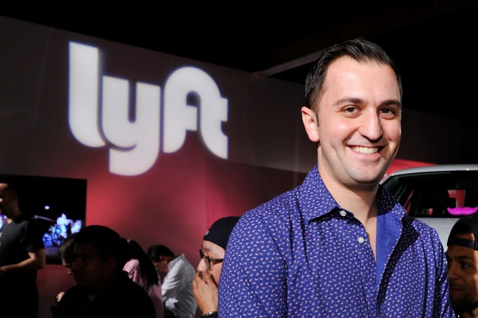 John Zimmer, co-founder and president of Lyft.