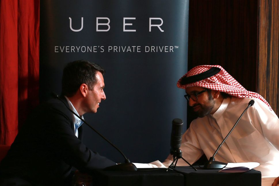 Uber launched service in the Middle East in 2014.
