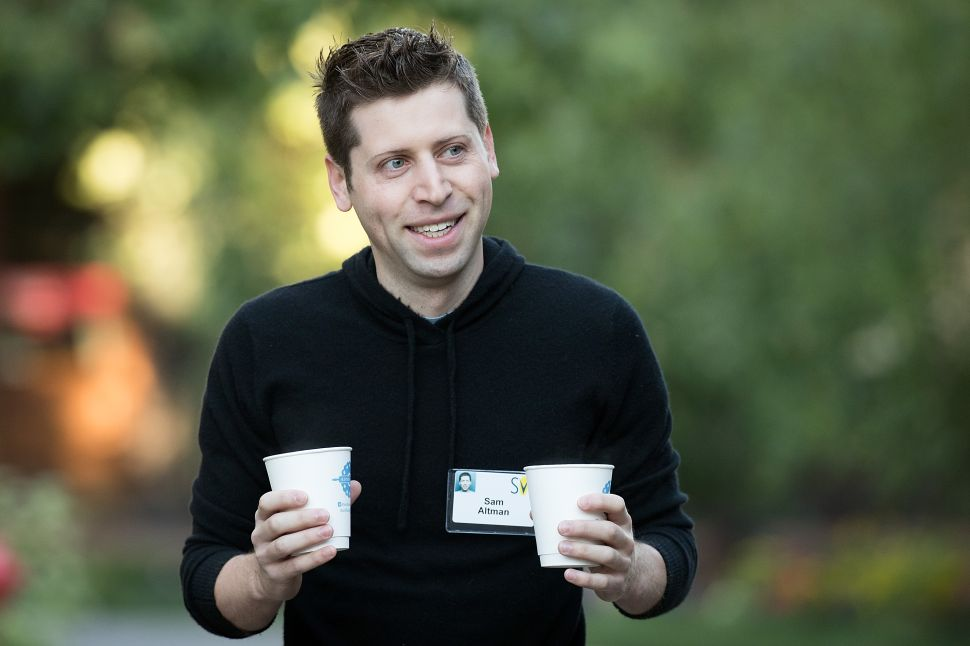 Sam Altman, president of Y Combinator and co-chairman of OpenAI.