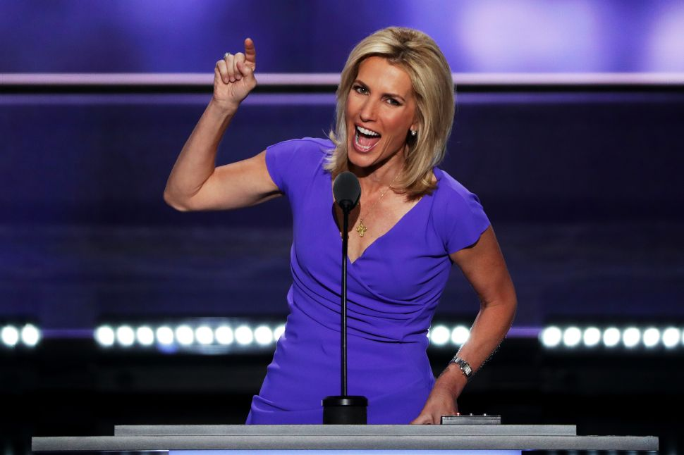 Fox News host Laura Ingraham.