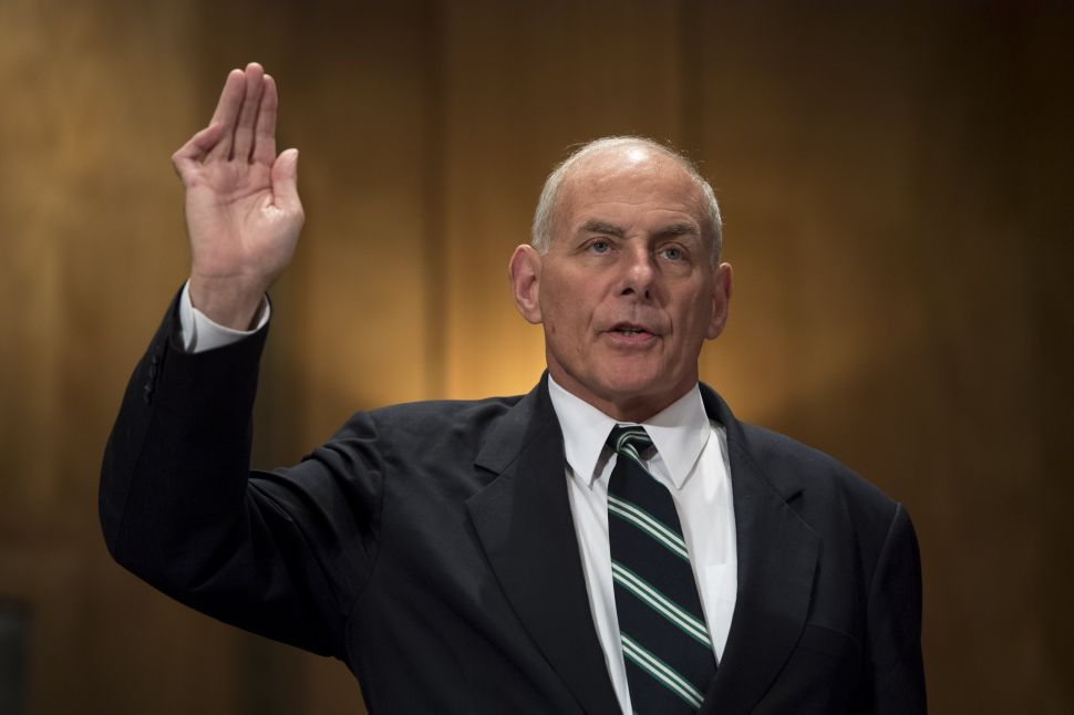 Former White House Chief of Staff John Kelly.