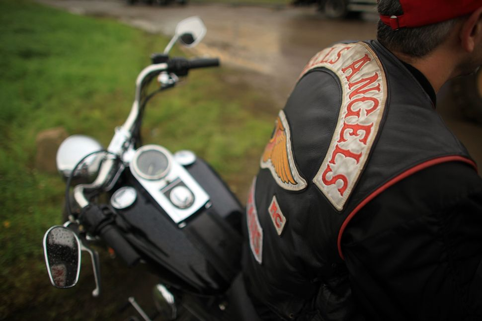 """""""Once you become a Hells Angel, it doesn't matter where you come from… you're a Hells Angel!"""""""