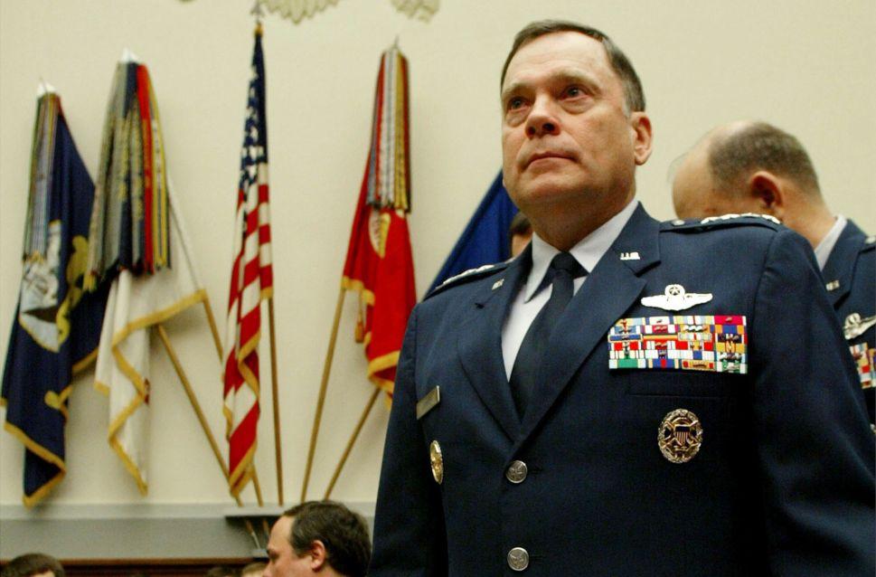 Former U.S. Air Force Chief of Staff General John Jumper.