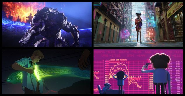 Netflix David Fincher Tim Miller Love Death & Robots