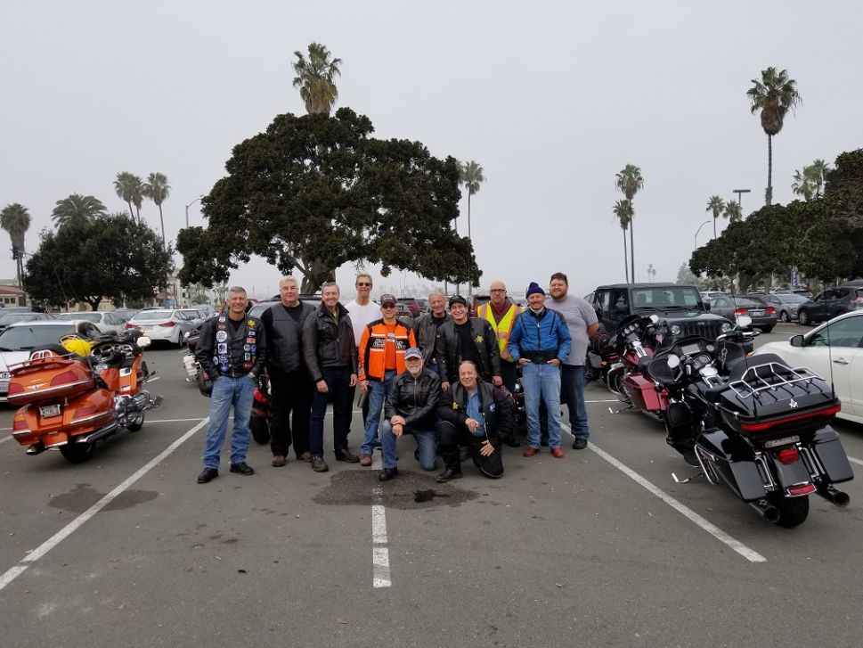 Members of Shalom and Chrome meet up with the Lost Tribe of Phoenix riding club.
