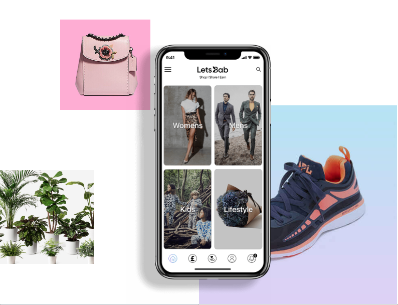 LetsBab is a new online shopping app that pays consumers to recommend items.
