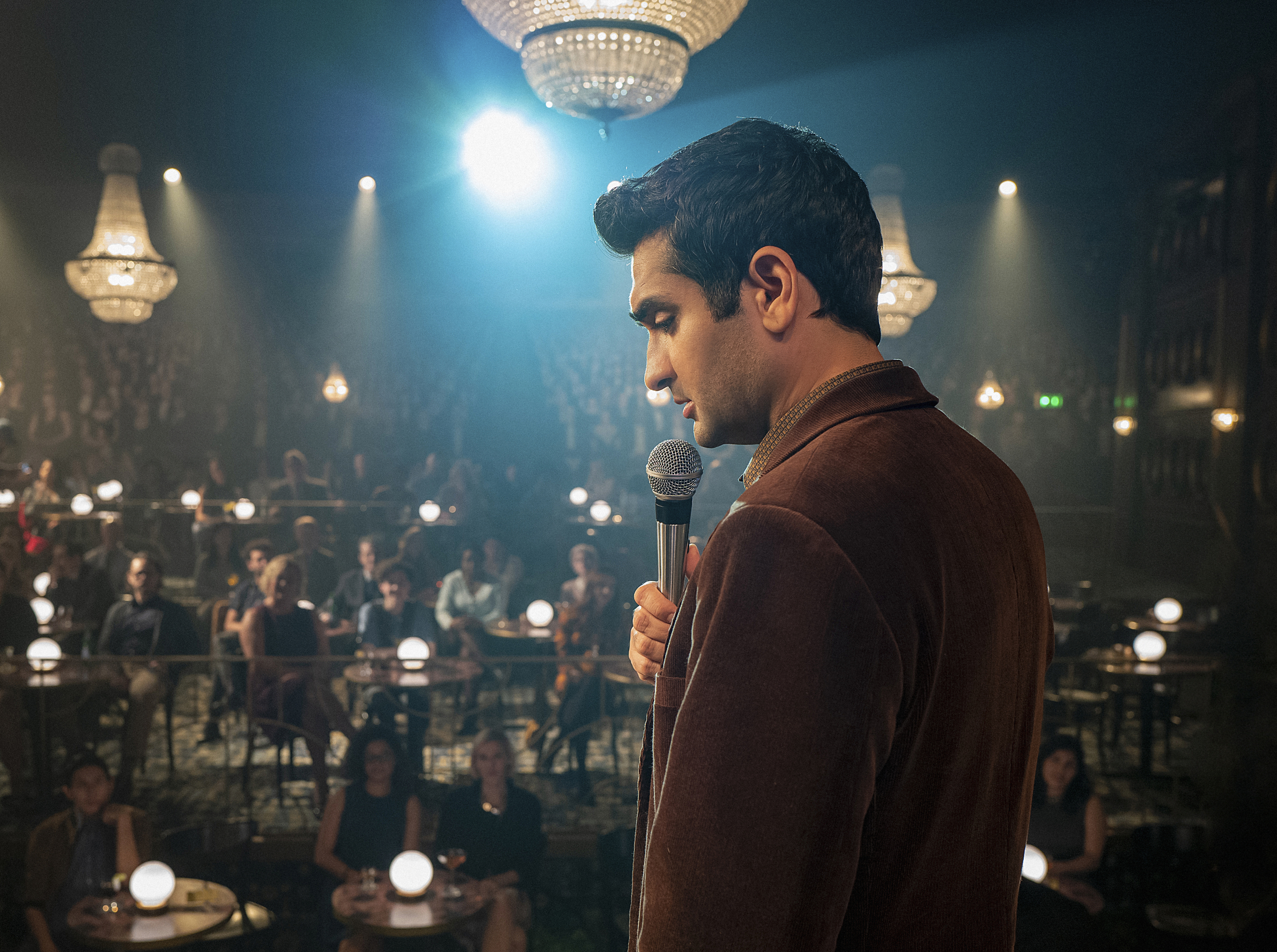 Kumail Nanjiani as Samir Wassan in the CBS All Access Series 'The Twilight Zone.'