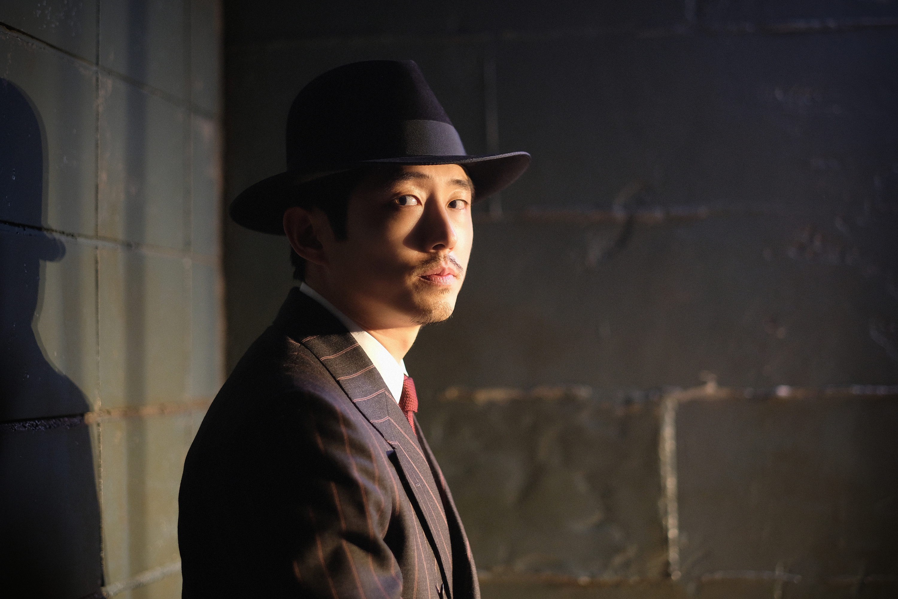 Steven Yeun as The Traveler in the CBS All Access series 'The Twilight Zone.'