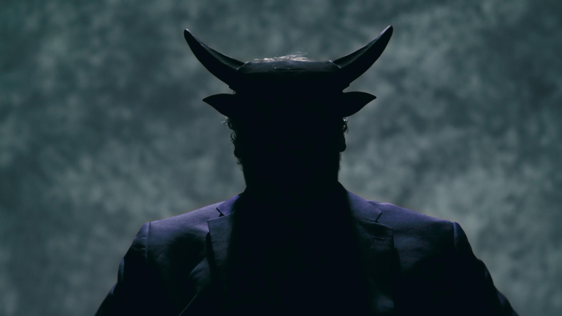 A scene from 'Hail Satan?'