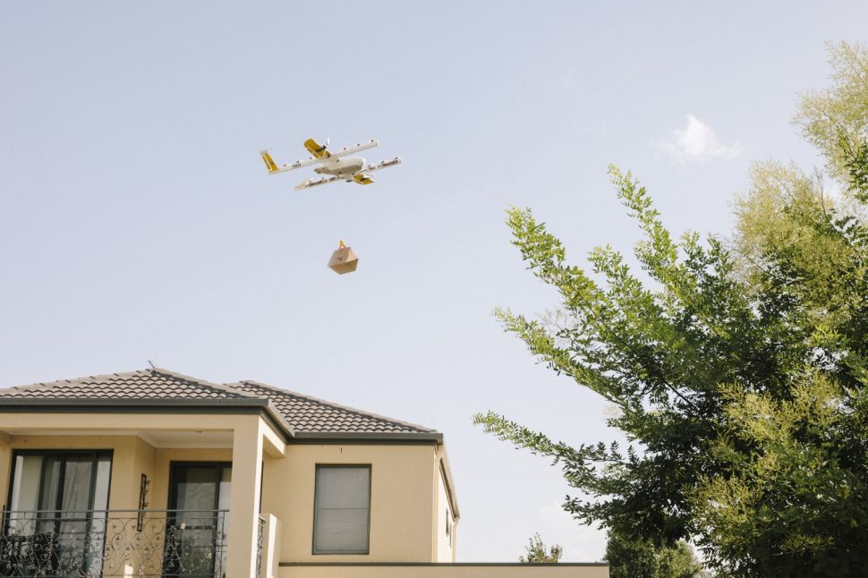 Alphabet-owned drone delivery startup Wing begins operation in Australia.