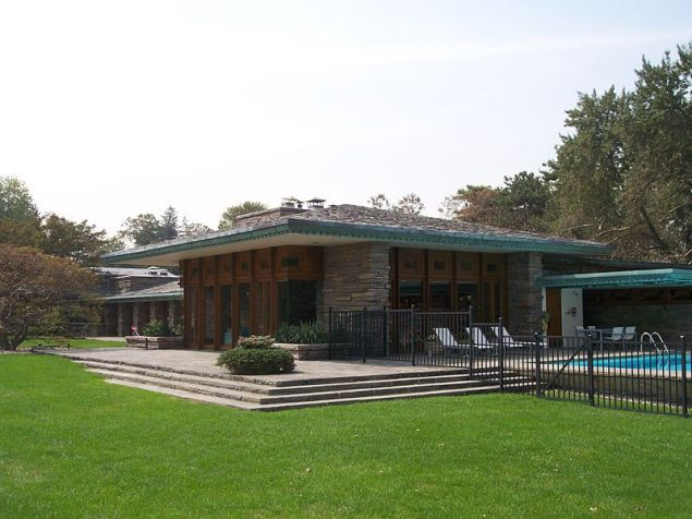 MAx Hoffman Frank Lloyd Wright house