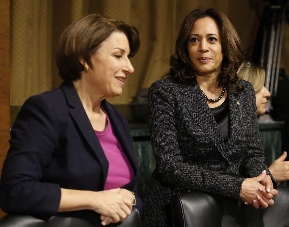 2020 contenders, Sen. Amy Klobuchar (D-Minn.) and Sen. Kamala Harris (D-Calif.), both have better track records than a lot of the male front runners.