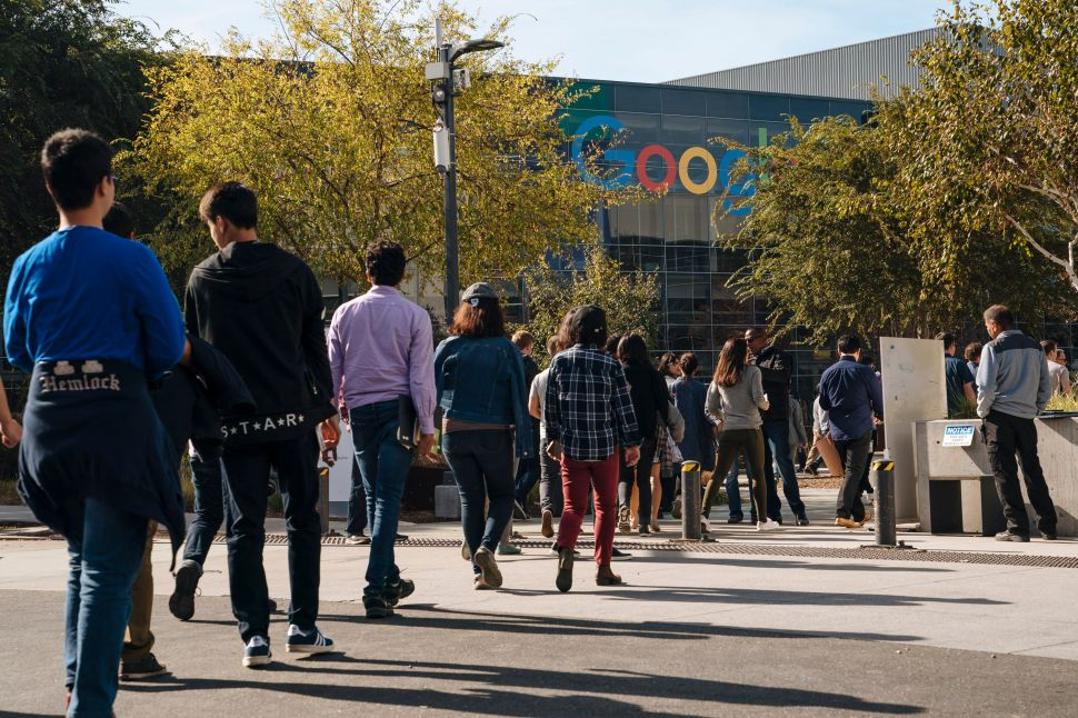 Last November, Google employees walked off the job to protest the company's handling of sexual misconduct claims.
