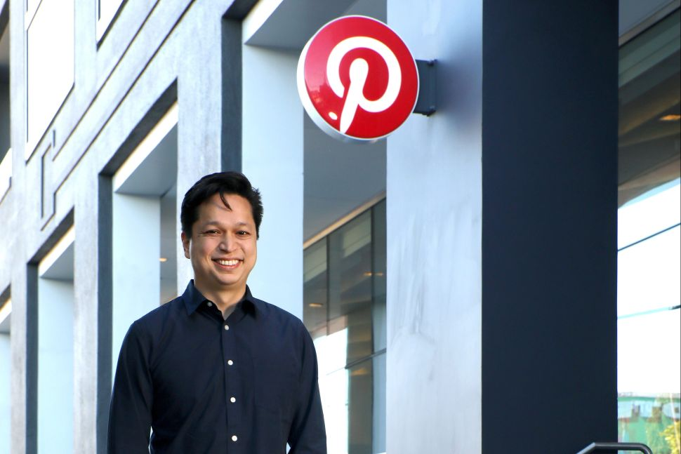 Ben Silbermann, Pinterest co-founder and CEO, at Pinterest headquarters in San Francisco, California.