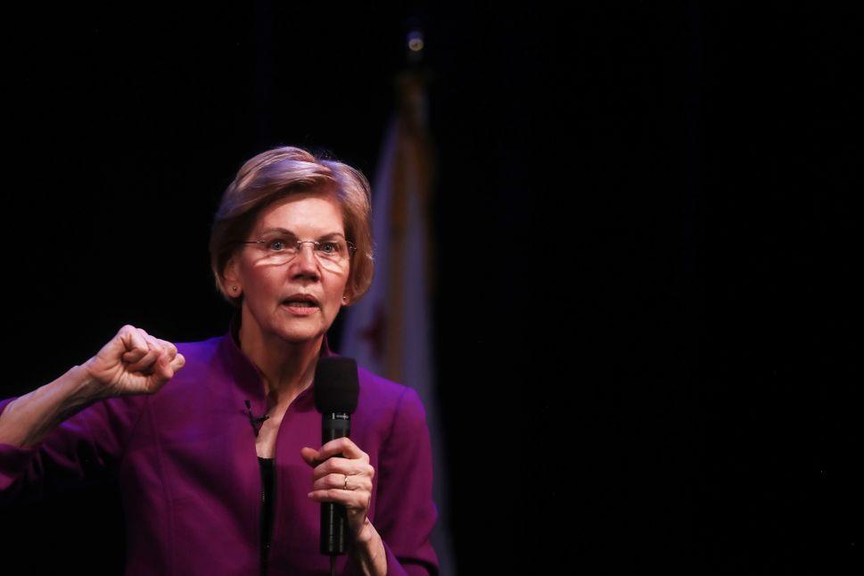 Elizabeth Warren wants to punish CEOs for mishaps.