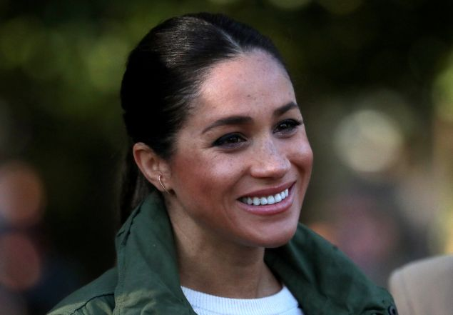 Meghan Markle planting vegetable garden
