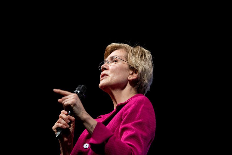 Senator Elizabeth Warren (D-MA).