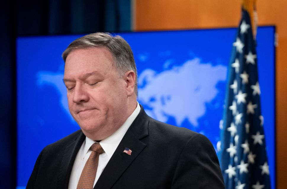U.S. Secretary of State Mike Pompeo.
