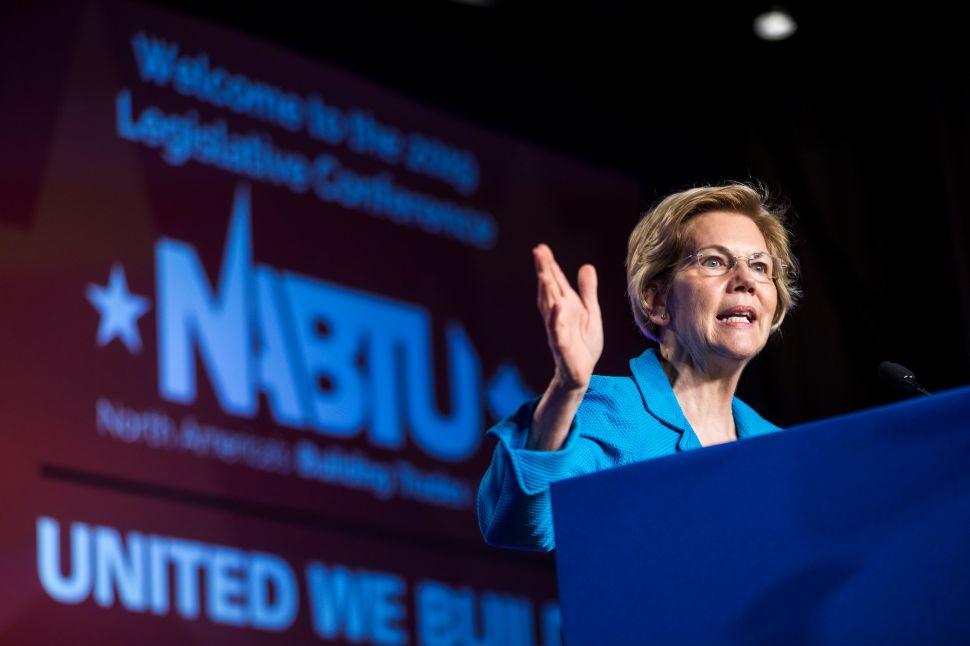 Elizabeth Warren (D-MA).
