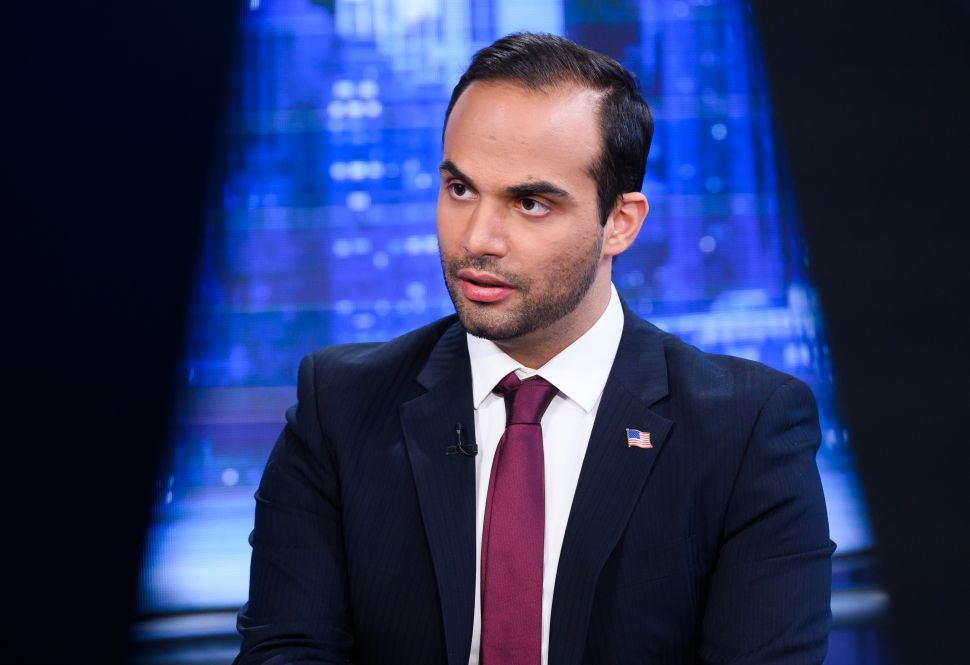 "George Papadopoulos visits ""The Story With Martha MacCallum."""