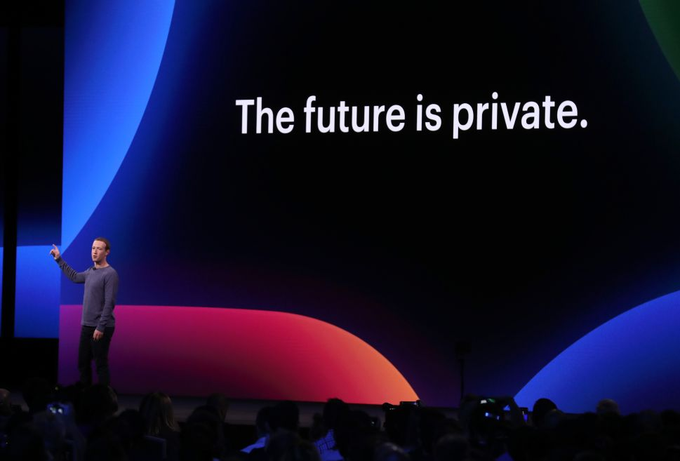 Facebook CEO Mark Zuckerberg speaks during the F8 Facebook Developers conference on April 30, 2019 in San Jose, California.