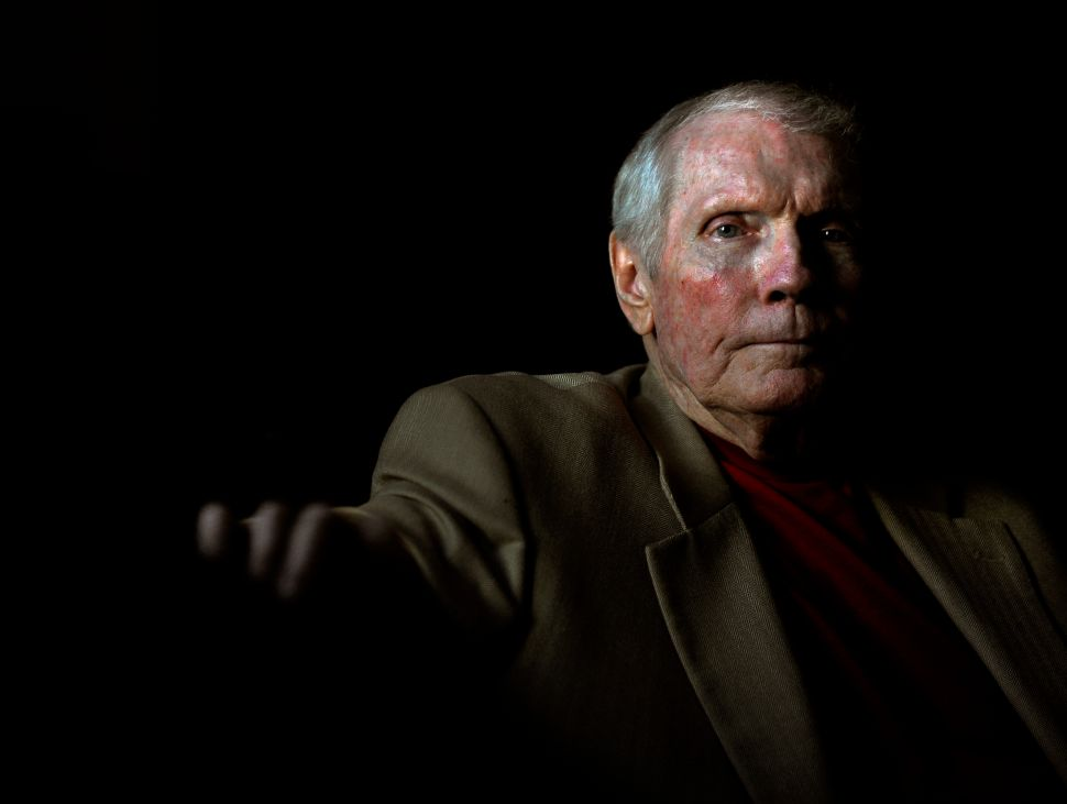 The late Rev. Fred Phelps who led the controversial Westboro Baptist Church.