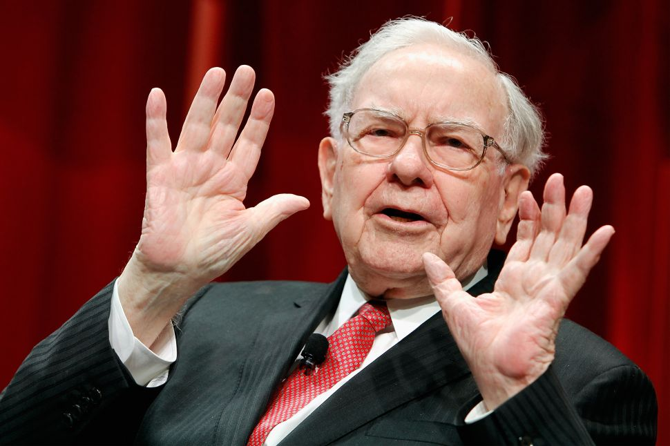 Warren Buffett is still optimistic about Wells Fargo's business fundamentals.