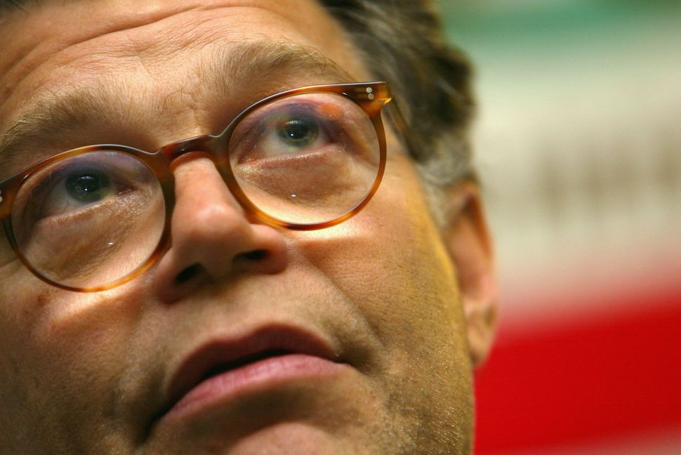Senator Al Franken stepped down following allegations by eight women that he engaged in inappropriate behavior.
