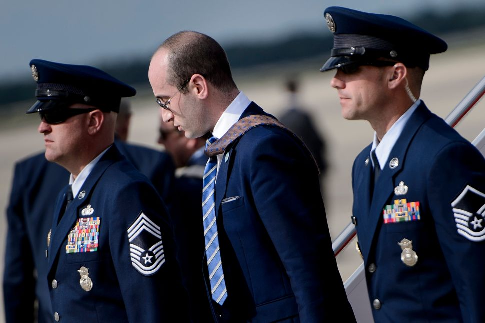 White House Advisor Stephen Miller.