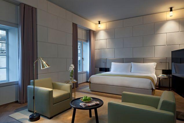Hotel Cafe Royal room