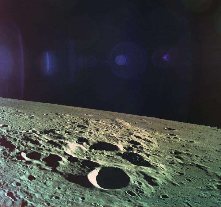 The final image the lander sent back.