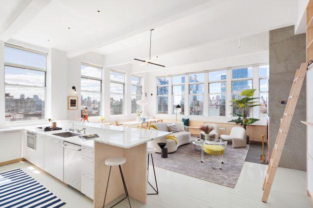 Lena Dunham apartment