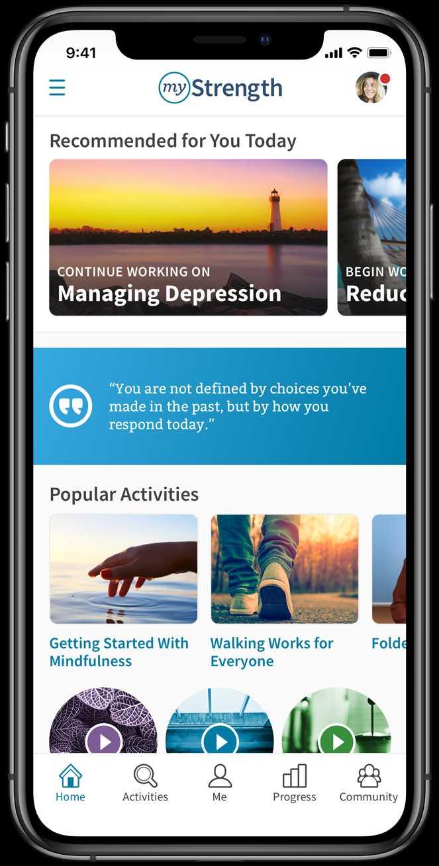 MyStrength App