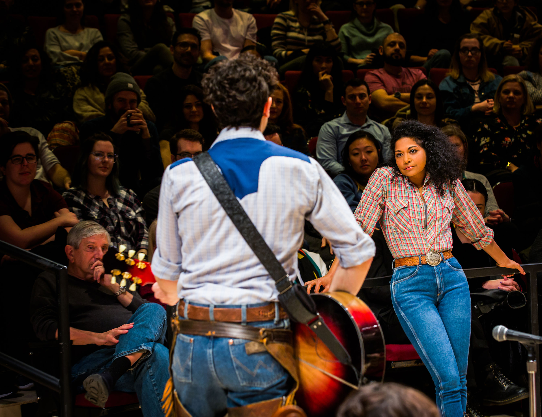 Damon Daunno & Rebecca Naomi Jones in Oklahoma!