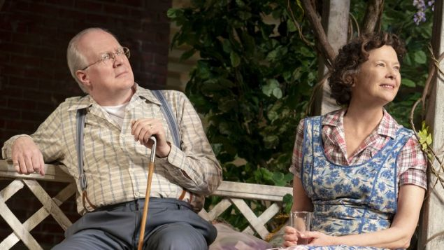 Tracy Letts and Annette Bening in All My Sons.