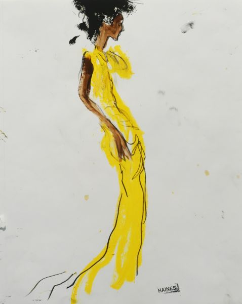 Yellow Dress by Richard Haines.